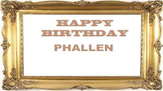 Phallen   Birthday Postcards & Postales