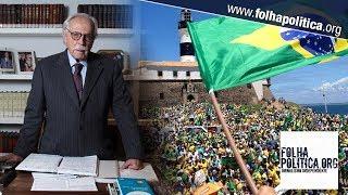Modesto Carvalhosa convoca para manifestação: 'É agora ou nunca'