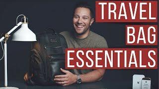 MEN'S TRAVEL BAG ESSENTIALS  (WHAT'S IN MY BAG?) VINCENZO LANDINO