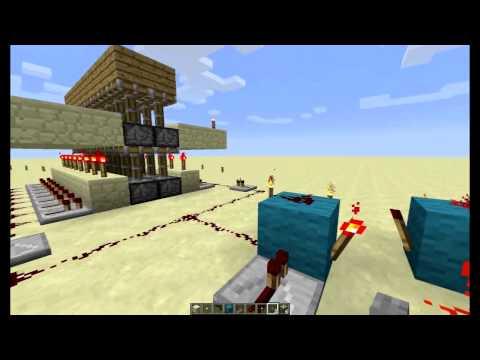 Minecraft Jak postavit bránu s dveřmi 6x4 2. díl : Padací most