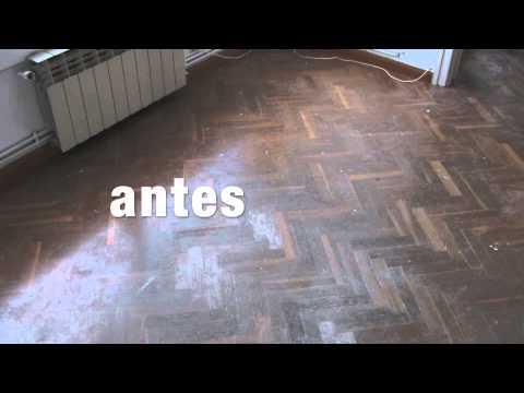 Pulir suelo de parquet youtube - Como reparar un piso de parquet levantado ...