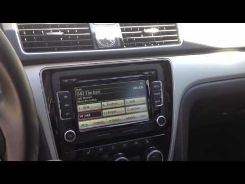 VW Passat RCD-510 demo