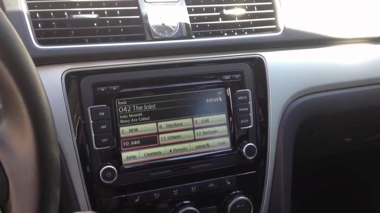 VW Passat RCD-510 demo - YouTube