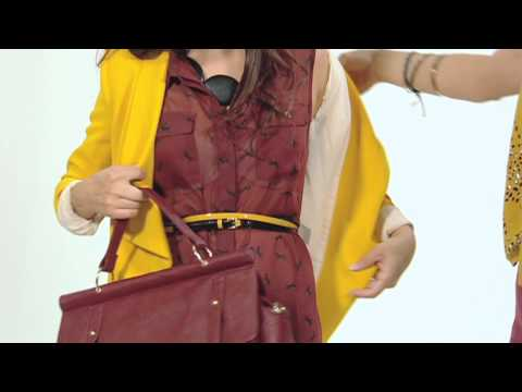 Fashion Style Challenge - Women Outfit Shopping Tutorial For Colourful Clothes and Shoes