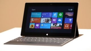 Microsoft Introduces 'Surface' Tablet
