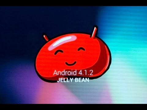 Installing Jelly Bean on an Android tablet