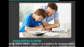 Private Tuitions at Home in Noida view on break.com tube online.