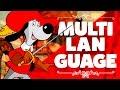 Cabecera Multilingüe D'Artacán y los Tres Mosqueperros