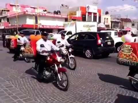 Desfile del sorteo del Comercio en Monclova
