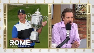 Brooks Koepka Deserves Everyone's Praises | The Jim Rome Show