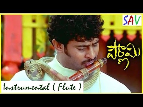 Pournami Movie Video Songs   Instrumental Flute Music   Prabhas, Charmi