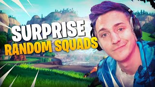 Surprise Squad Fills! AMAZING REACTIONS!