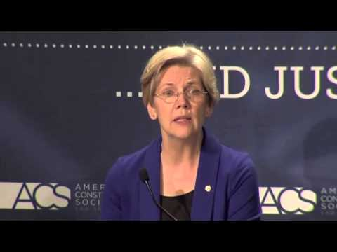 Sen. Warren on Corporate Capture of the Federal Courts