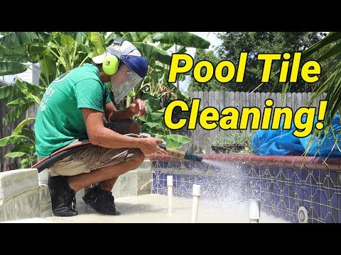 Pool Tile Cleaning with the Dustless Blaster!   Dustless Blasting NewsBrief
