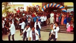 Flash mob in mallareddy college mrem