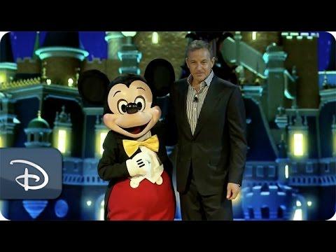 Bob Iger Unveils Shanghai Disneyland Details   Disney Parks