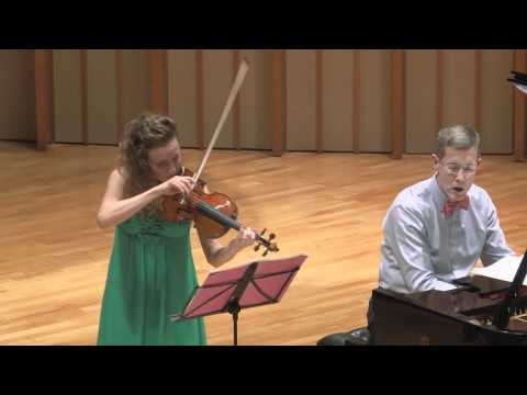 Camerata Pacifica  Debussy Violin Sonata with Catherine Leonard &amp; Warren Jones