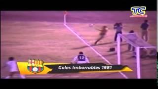 Resumen - Barcelona 1 América de Quito 1 - Campeonato Nacional 1981
