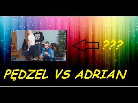 Bystrzak TV PLOMBA W PYSK PĘDZEL VS ADRIAN?! ZOBACZ!!