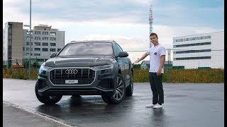 2018 Audi Q8 Review! (Full Review, Driving, Interior)
