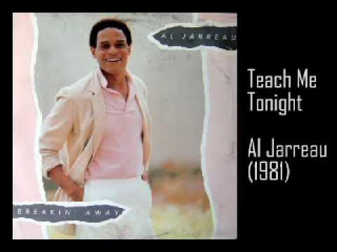 Al Jarreau - Teach me Tonight (lyrics) - YouTube
