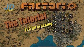 Factorio 0.16 The Tutorial E20 Oil cracking