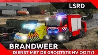 GTA 5 LSRD BRANDWEER - DIENST MET DE GROOTSTE HV OOIT?!