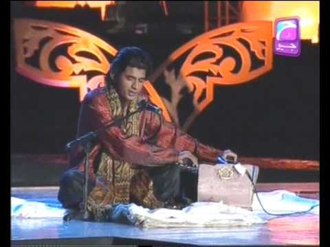 Meda Ishq Vi Tu Wahdat Rameez From Pakpattan  Shab-e-wajad Geo Tv.flv video