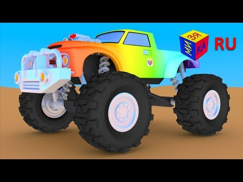 Мультики грузовик раскраска
