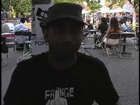 Pradeep talks up fringe shows- Monday June 16 2008