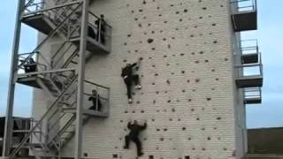 Parkour Russian soldiers from the Dzerzhinsky Division