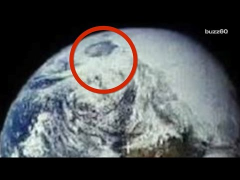 NASA Image of Earth Reignites North Pole is Hollow Conspiracy