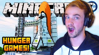 "Minecraft HUNGER GAMES - ""SPACE BATTLE!"" - w/ Ali-A #39!"