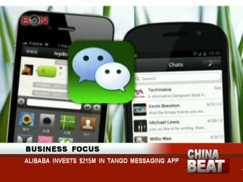 Alibaba invests $215m in Tango messaging app - China Beat - Mar 21 ,2014 - BONTV China