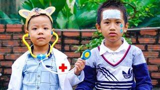 Trò Chơi Khám Bệnh Cho Bé Bị Sốt - Bé Nhím TV - Đồ Chơi Trẻ Em Thiếu Nhi