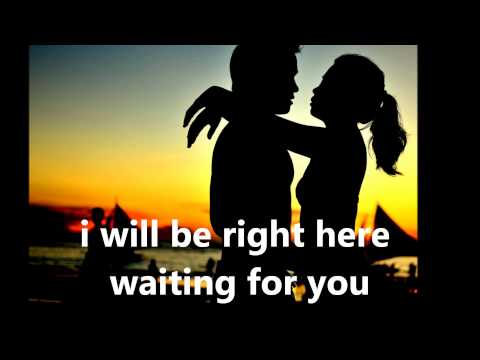 Richard Marx - Right Here Waiting (lyrics) video