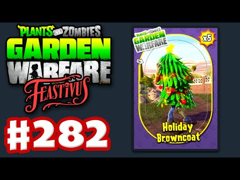 Plants vs. Zombies: Garden Warfare - Gameplay Walkthrough Part 282 - Holiday Browncoats (PC)