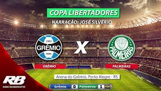 Copa Libertadores da América - Grêmio X Palmeiras - 20/08/2019 - AO VIVO