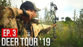 BACK IN THE BUCK NEST, GHILLIE SUIT AMBUSH! | North Dakota Public Land Bowhunting