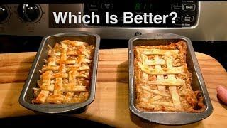 Fresh Apple Pie versus Mountain House Apple Crisp