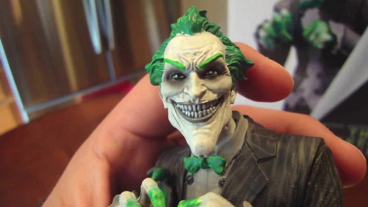 Arkham Joker Statue Joker Arkham City Statue by dc