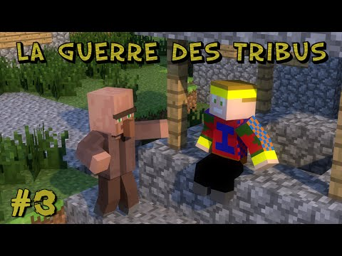 Minecraft - La Guerre Des Tribus 4 : Equipe Jaune - Episode 3 ; Transformation Du Village !