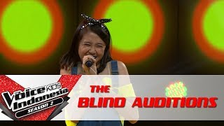 "Download Lagu Vanessa ""Balada Sirkus"" | The Blind Auditions | The Voice Kids Indonesia Season 2 GTV 2017 Gratis STAFABAND"