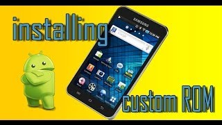Installing custom ROM on Samsung YP-GS1