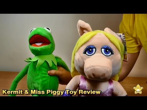 Kermit & Miss Piggy Muppets Most Wanted Stuffed Toy Review