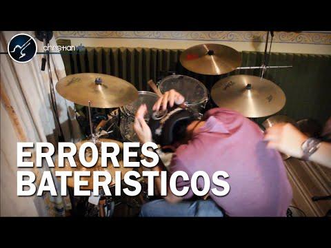 Los Peores Errores al tocar Bateria | ERRORES BATERISTICOS