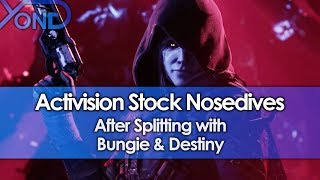 Activision Stock Nosedives After Splitting with Bungie & Destiny