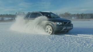Vparts busar lite med våran Volvo XC90 V8 på isen - VPARTS.SE