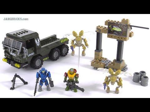 Mega Bloks Halo Covenant Drone Outbreak set review!