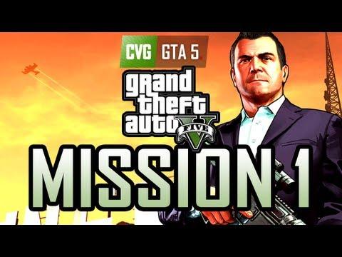 GTA 5 Gameplay Walkthrough Part 1: Prologue [Gold] [No commentary]